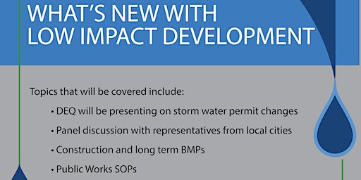 Storm Water Contractor  and MS4 Training