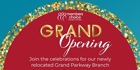 Grand Parkway Branch Grand Opening tickets