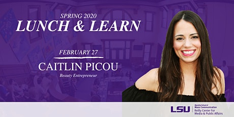 Lunch & Learn: Caitlin Picou tickets