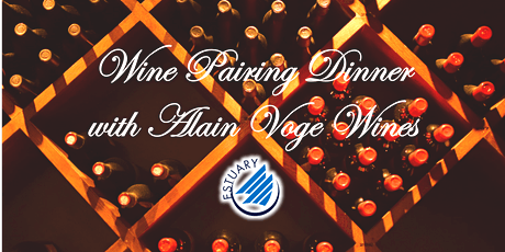 Wine Pairing Dinner with Domaine Alain Voge tickets