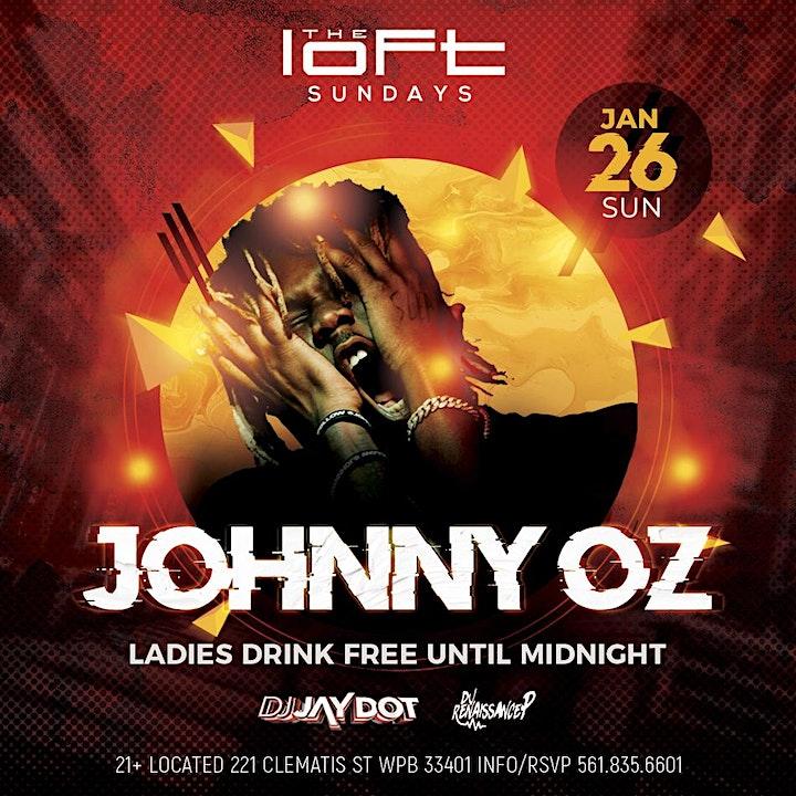 Loft Sundays Presents: JOHNNY OZ image
