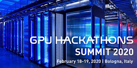 GPU Hackathon Summit 2020 biglietti