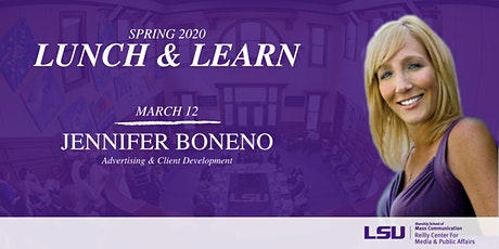 Lunch & Learn: Jennifer Boneno tickets
