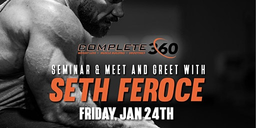 Meet & Greet with Seth Feroce