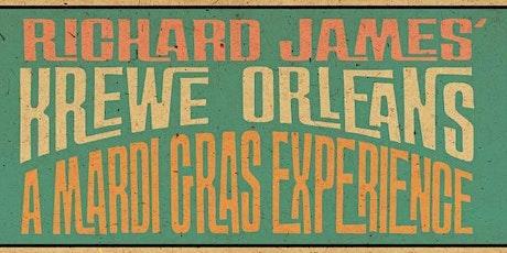 Richard James' Krewe Orleans tickets