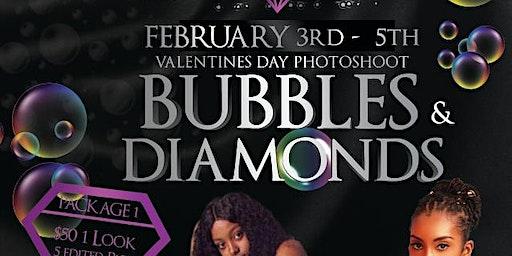 Bubbles & Diamonds Valentine's Photoshoot