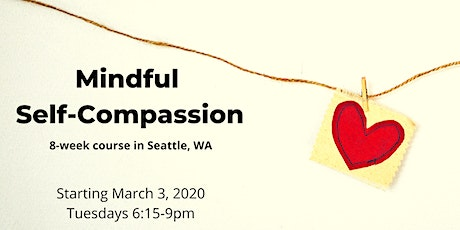 8-week Mindful Self-Compassion (MSC) course tickets
