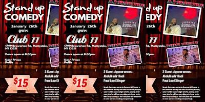 The Duo City Comedy Show @ Club 11