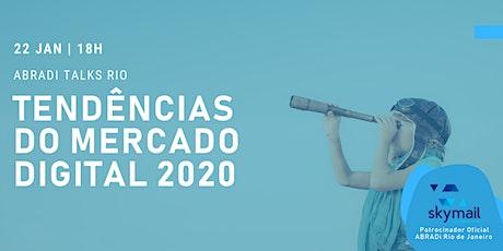 ABRADi Talks Rio ingressos