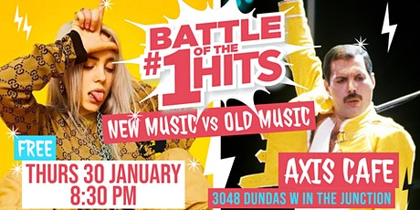Battle of the #1 Hits - New Music vs Old Music tickets