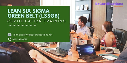 Lean Six Sigma Green Belt (LSSGB) Certification Training in Percé, PE