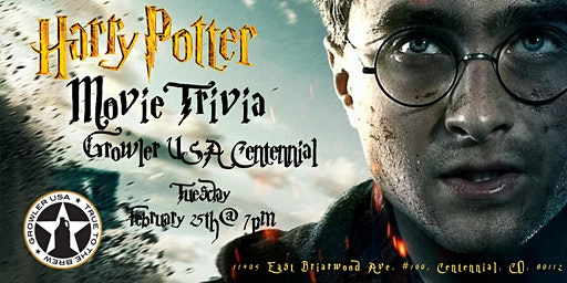 Harry Potter Movies Trivia at Growler USA Centennial