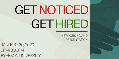 Get Noticed, Get Hired! tickets