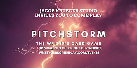 Game Night at Screenwriting Studio : PITCHSTORM! tickets