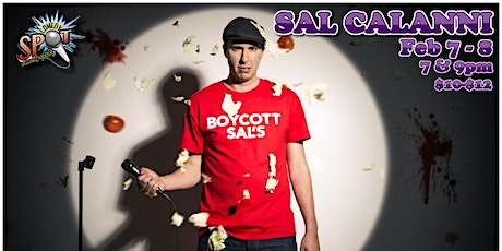 Sal Calanni at The Comedy Spot tickets
