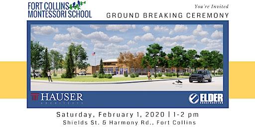 Fort Collins Montessori School Ground Breaking Ceremony
