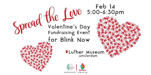 Spread the Love Valentine's Day Fundraising Event for BlinkNow