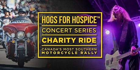 HOGS FOR HOSPICE - Motorcycle Rally - Concerts - Charity Ride tickets