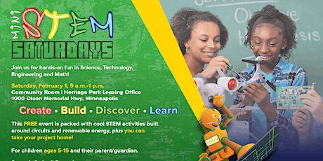mini STEM Saturday - February 1, 2020 tickets