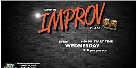 Improv Class tickets