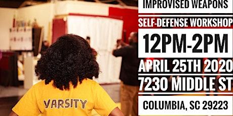Improvised Weapons Self-defense  Workshop tickets
