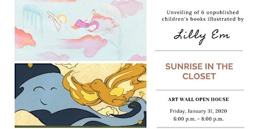 Children's Books Illustrations: Sunrise in the Closet