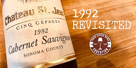 1992 Revisited: Sonoma and Napa Valley tickets