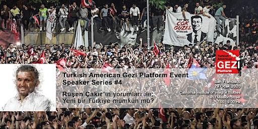 Speaker Series #4 — Ruşen Çakır