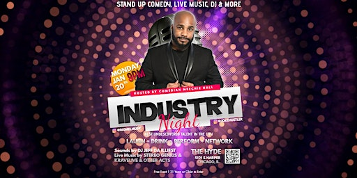 MLK's Monday Industry Night at The Hyde (FREE RSVP)