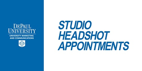 Faculty/Staff  Monthly Headshot Appointments : Loop Campus-January 27, 2020 tickets