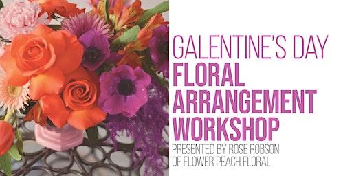 Galentine's Day Floral Arrangement Workshop