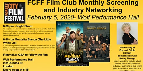 FCFF Film Club Monthly Screening and Networking - February 2020 tickets