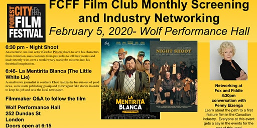 FCFF Film Club Monthly Screening and Networking - February 2020