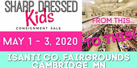 Sharp Dressed Kids SPRING SALE 2020 - Seller Registration tickets