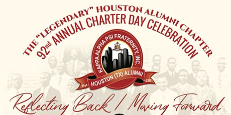 Houston (TX) Alumni Chapter of Kappa Alpha Psi Fraternity, Inc - 92nd Anniversary Charter Day Celebration tickets