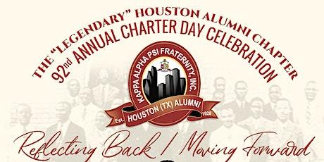 Houston (TX) Alumni Chapter of Kappa Alpha Psi Fraternity, Inc - 92nd Anniversary Charter Day Celebration tickets