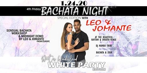 4th Friday Bachata Night: All-White Grand Opening