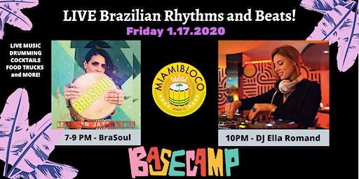 FRIDAY NIGHT LIVE -  Brazilian Rhythms and Jazz