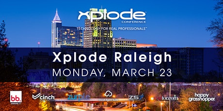 Xplode Conference Raleigh 2020 tickets