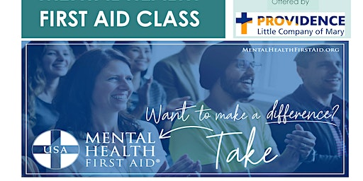 Get Certified: Mental Health First Aid Class