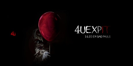 PRÉ VENDA 4UEXP: IT! tickets