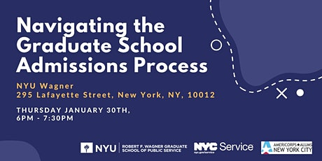 Navigating the Graduate School Admissions Process tickets