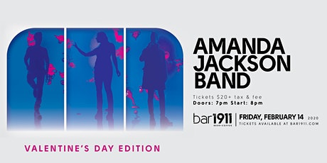 Amanda Jackson Band - Valentine's Day Edition - Live at Bar1911 tickets