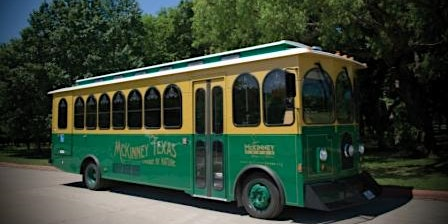 McKinney Historic District Trolley Tour