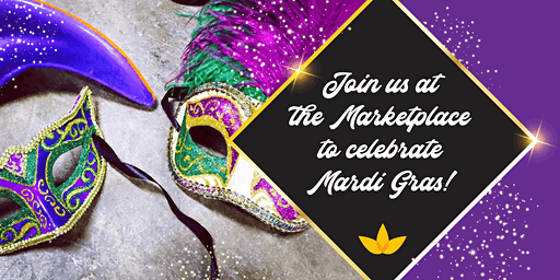 Mardi Gras at the Marketplace!