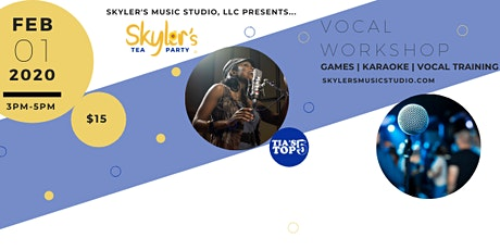 Skyler's Tea Party: Adult Vocal Workshop tickets