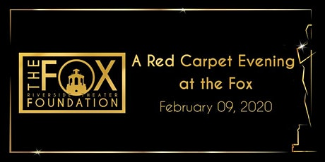 A Red Carpet Evening at the Fox tickets