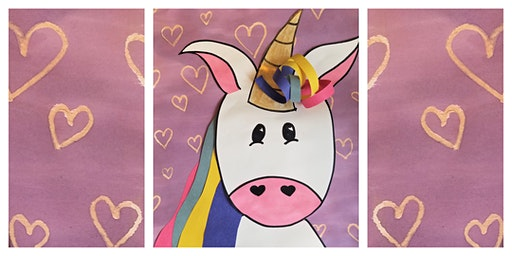 Early-Out School Day: How to Draw & Paint a Unicorn Workshop (5-12 Years)