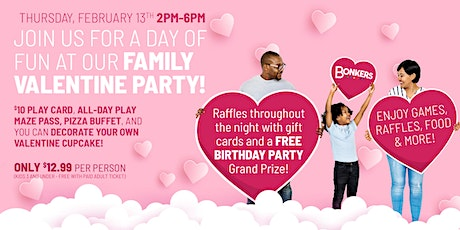 Bonkers Family Valentine Party tickets