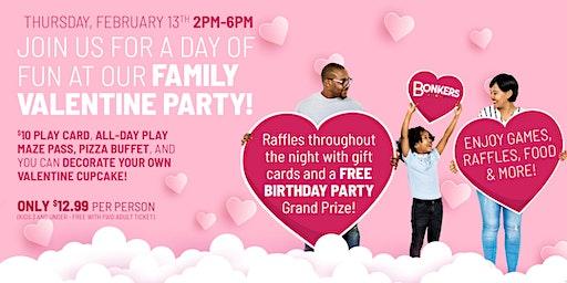 Bonkers Family Valentine Party